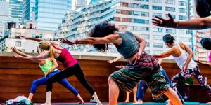 Group fitness classes Manhattan 57th street