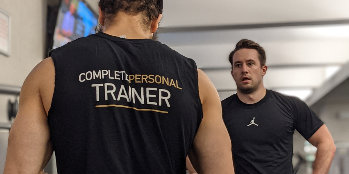 CompleteBody trainer trains a members