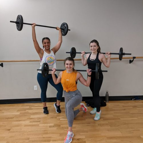 Members in a barbell class
